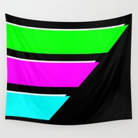 logo Wall Tapestries featuring Logo E by Emanuelerock