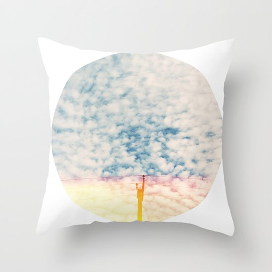 Beautiful Past Throw Pillow