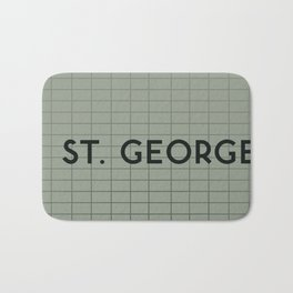 ST. GEORGE | Subway Station Bath Mat