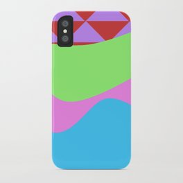 Tribal Waves iPhone Case