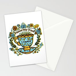 Poison of Choice: Cyanide TeaCup Stationery Cards