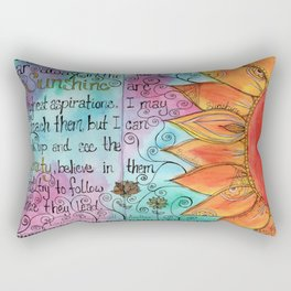 Sunshine and Beauty Rectangular Pillow