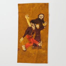 The Sold Soul / A Alma Vendida Beach Towel