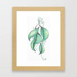 Gumleaves Framed Art Print