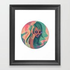 Estribillo Framed Art Print