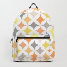 Pastel mid century inspiration Backpack