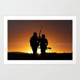 Dawn of the Warrior Art Print