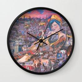 JunkYard Wall Clock