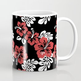 Vintage Hawaiian Hibiscus Coffee Mug