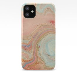 Pastel Marble iPhone Case
