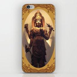 Trimurati God iPhone Skin