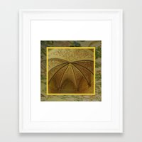 antique Framed Art Prints featuring Antique by Herzensdinge