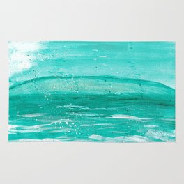 Bleu Wave Rising Rug