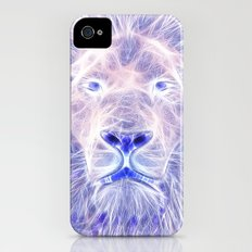 Electric Lion iPhone (4, 4s) Slim Case