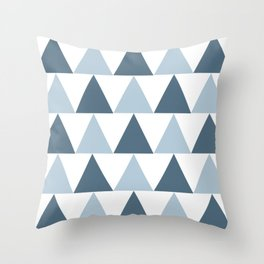 Triangle Pattern #4 Throw Pillow