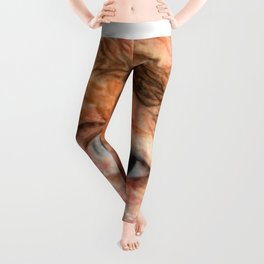 With Age Comes Infirmity Leggings
