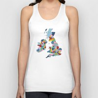 uk Tank Tops featuring UK by Project M