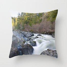 Falls Throw Pillow