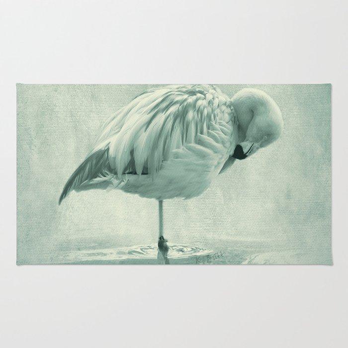 Flamingo Blues Rug