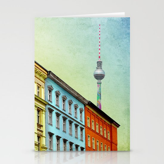 The Streets of Berlin Stationery Cards