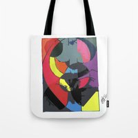 matrix Tote Bags featuring Matrix by EllysWonders