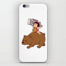 Boombox Kintaro -remake version- iPhone & iPod Skin