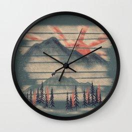Mountain Goat Drifter... Wall Clock