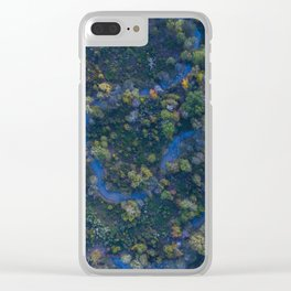 Fall in the Bayou Clear iPhone Case