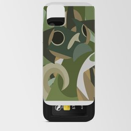 Shapes of Bruce iPhone Card Case