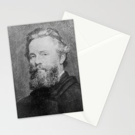 Joseph Oriel Eaton -portrait of Herman Melville Stationery Cards