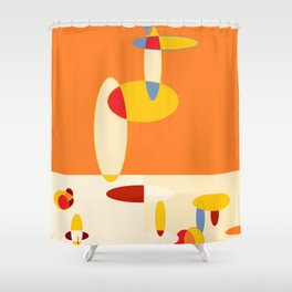 The Goose Shower Curtain