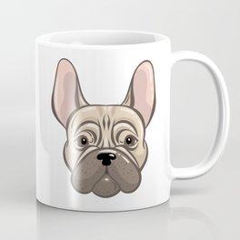 Cute french bulldog muzzle Coffee Mug