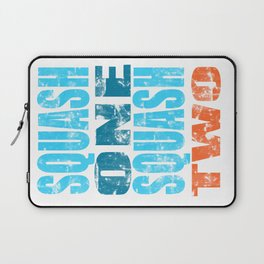 SQUASH ONE SQUASH TWO Laptop Sleeve
