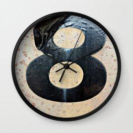Plastic 8  Wall Clock