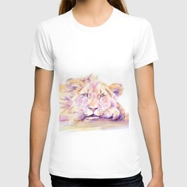 Lion _ Too hot to hunt T-shirt