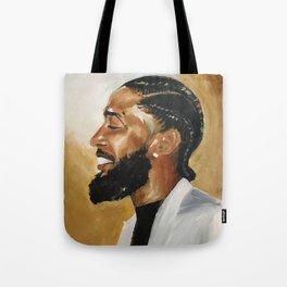 Gold Soul Nipsey Hussle Tote Bag