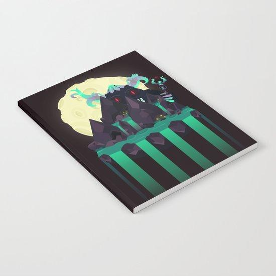 Moonlit Titan Notebook