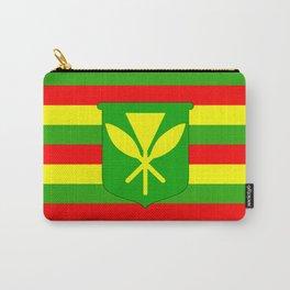 Kanaka Maoli Flag Carry-All Pouch