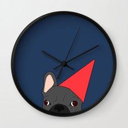 Birthday Frenchie Wall Clock