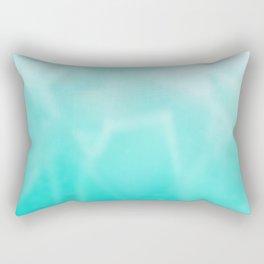 shades of teal Rectangular Pillow