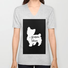 Yorkshire Terrier Unisex V-Neck