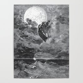 Gustave Dore: A Voyage To The Moon Poster