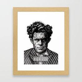 ARCH-NEMESIS SUPER VILLAIN Framed Art Print