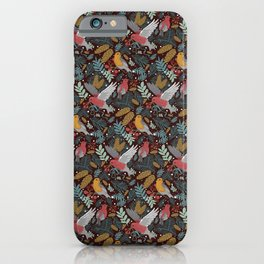 The Winter Earth Song Red iPhone Case