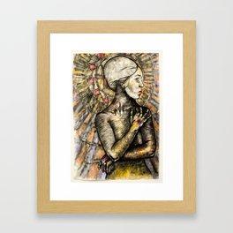 Black Madonna Framed Art Print
