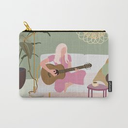 Guitar girl Carry-All Pouch