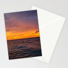 Maldivian Sunset Stationery Cards