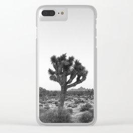 JOSHUA TREE / California Desert Clear iPhone Case