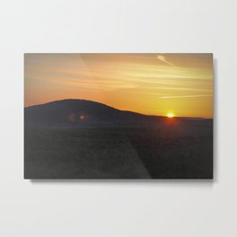 Easter's Sunrise Over Mount Grace Metal Print