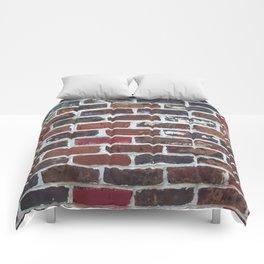 Brick Wall Vertical Comforters